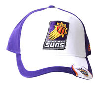 Reebok Phoenix Suns Authentic NBA Hook & Loop Purple White Hat