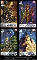 Fantastic Force (2nd Series) 1 2 3 4 Complete Set Run Lot 1-4 VF/NM