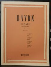 HAYDN -  Sonate per pianoforte volume 2 - ed Ricordi
