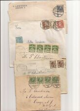 DENMARK-27 Covers 1920s-on,few ships, censors etc.