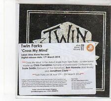 (FB493) Twin Forks, Cross My Mind - 2014 DJ CD