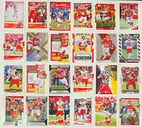 Kansas City Chiefs (24) Card Lot Patrick Mahomes Travis Kelce Tyreek Hill Jamaal