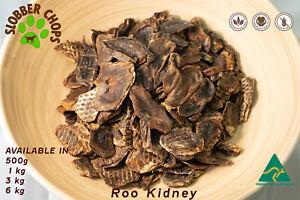 KANGAROO ROO JERKY (KIDNEY) 100% NATURAL HEALTHY HIGH B3 & ZINC DOG TREAT