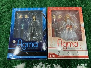 Authentic Figma Sword Art Online SAO Project Kirito and/or Asuna Max Factory