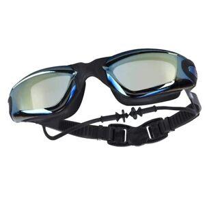 Swimming Goggles Earplug Professional Adult Men Women Optical waterproof Eyewear