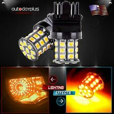 2x 3157 3156 33SMD Reverse Brake/Stop/Turn Tail Back Up LED Light Bulb White
