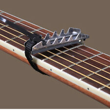 Black Quick Change Flat Change Clamp Key Capo 4 Electric Acoustic Guitar FF