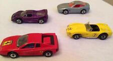 Ferrari Lot of Four - Hot Wheels and Matchbox