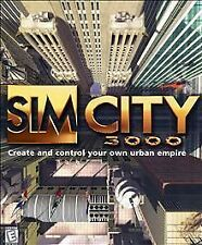 *NEW* Sim City 3000 - Big Box PC Game - Value Pack w/ Guide - NOS Sealed Vintage