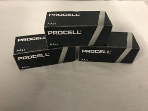 72 New AA Procell Alkaline Batteries by Duracell PC1500 EXP 2026 or Later