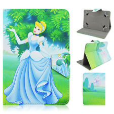 Universal Princess Cartoon PU Leather Flip Stand Cover Case For 7 inch Tablet PC