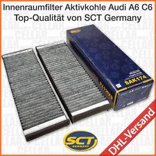 Audi A6 C6 4F2 4F5 4FH Satz Innenraumfilter Pollenfilter Mikrofilter Aktivkohle