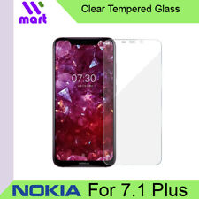 Clear Tempered Glass Screen Protector for Nokia 7.1 Plus