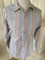 Fat Face Mens Striped Long Sleeve Shirt Size S. Great Condition.