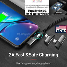 2-in-1 Apple Headphones Audio Adapter Charger For Apple X/XR/XS Max /8 7 Plus