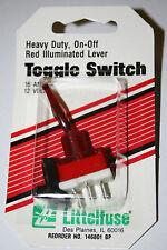 Heavy Duty,On-Off Chrome DuckBill Switch 16 Amp12V Littlefuse 146755 FREE SHIP