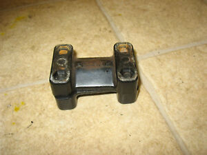 95 POLARIS INDY 600 XLT RMK HANDLEBAR HANDLE BAR CLAMPS