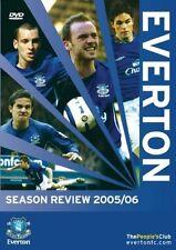 Everton - Season Review 2005/06 (DVD, 2006) New DVD Region 4 Sealed