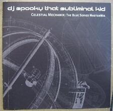 "DJ Spooky that Subliminal Kid ""Celestial MECHANIX THE BLUE Series mastermix"" 2cd"