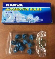10x Dash Panel Globes 12 Volts 1.2 Watt Standard B8.4D Globe Base NARVA 47738