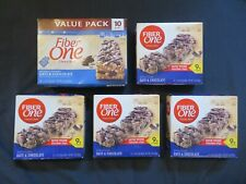 (5) Boxes of Fiber One Chewy Oats & Chocolate Bars 1.4 Oz Bars 30 Total Bars
