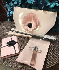 Lot/4 Viktor & Rolf FLOWERBOMB Mini Gift Set Parfum Perfume, Dew Pouch, Fan