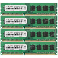 32GB 4x8GB 2Rx8 PC3L-12800U DDR3-1600Mhz 240Pin 1.35V Non-ECC Un-buffered Memory