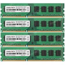 32GB 4x8GB 2Rx8 PC3L-12800U DDR3-1600Mhz 240Pin 1.35V Non-ECC Un-buffered Memory