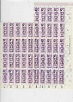 germany 1956 central courier service mnh stamps sheet ref 10706