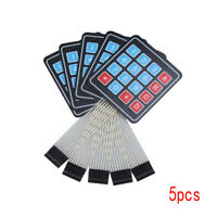 1/5 Pcs 16Key 4x4 Membrane Switch Keypad 4*4 Array Matrix keyboard for arduino