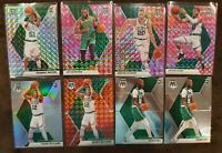 2019-20 Mosaic Celtics Lot (8) - Grant Williams Red & Silver Prizm RC, Tatum
