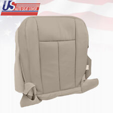 2011 2012 Ford Expedition XLT Driver Bottom Perforated Leather Seat Cover Gray