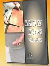 HOW TO LAY WALL & FLOOR TILING DVD LEARN ALL YOU NEED TO KNOW TO DIY TILES, NEW