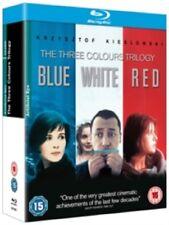 Three Colours Trilogy 1 2 3 One Two Three (Juliette Binoche) New Reg B Blu-ray
