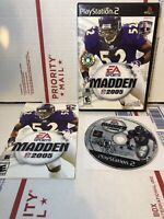 Madden NFL 2005 PS2 For PlayStation 2 Football Free Shipping