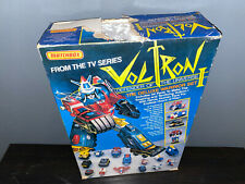 Vintage G1 Matchbox Voltron Deluxe Warrior Set with Box