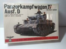Vintage, Bandai , 1/48 Scale Panzerkampfwagen IV Ausf.D Rare.