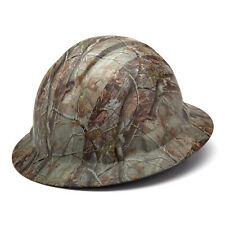 Pyramex Ridgeline Hard Hat Camouflage Pattern Full Brim Ratchet, HP54119