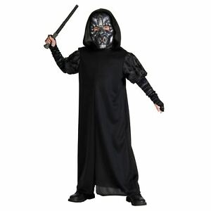 Child Death Eater Costume Harry Potter Book Week Fancy Dress Outfit