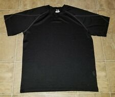 Fila Sport sz XL Men's Mesh Training Breathable T-Shirt Black J1