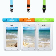 3x Underwater Cell Phone Pouch Waterproof Dry Bag Case Cover for iPhone Samsung