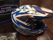 Pure Polaris Fly F2 Kieth Curtis Edition Motorcycle Snowmobile Helmet Size XS