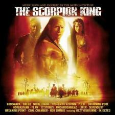 THE SCORPION KING: SOUNDTRACK – 16 TRACK CD, ROB ZOMBIE, OZZY OSBOURNE, GODSMACK
