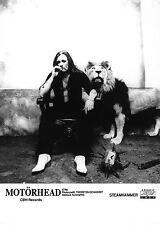 Motörhead - Awesome Promo Press Photo 1996 - Lemmy Kilmister with Plush Lion!!