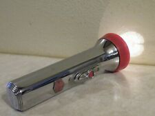 "WORKING Vintage EVEREADY Master Lite MASTERLITE Flashlight Chrome 6""  FREE SHIP"