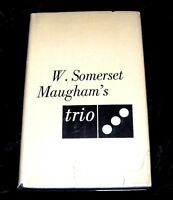 TRIO-W. Somerset Maugham  FIRST EDITION HCDJ 1950-STORIES PLAYS
