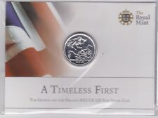 2013 Fine Silver A TIMELESS FIRST £20 Coin BU Pack AUCTION
