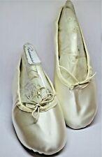NEU Ballettschuhe Schläppchen MajestiBallerina Satin ivory Sylviasschuhwelt