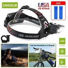 2000LM Bike Front light T6 Led Power Headlamp headlight 18650 Battery+Charger