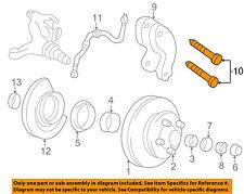 GM OEM Brake-Front-Caliper Bolt 18022602